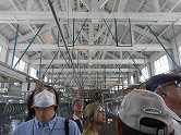 6富岡製糸場 繰り糸作業場 天井がとても高い