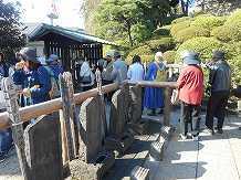 義士の墓地